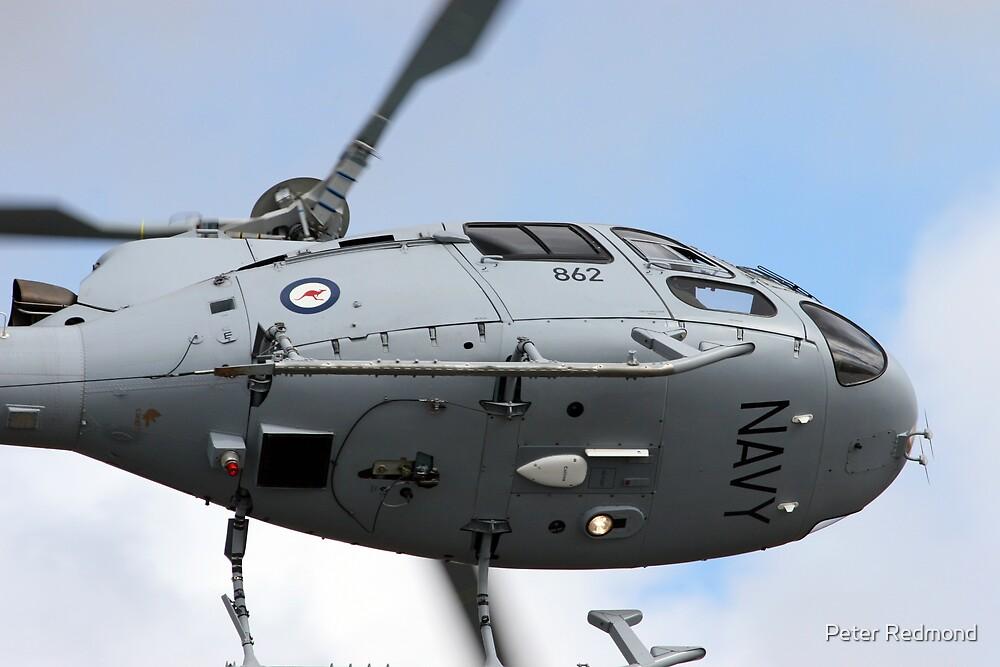 AS350 Under Belly by Peter Redmond