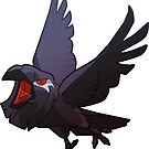 Jane the Raven Sticker by Fable