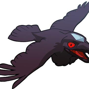 Raven Joe Sticker by Fable