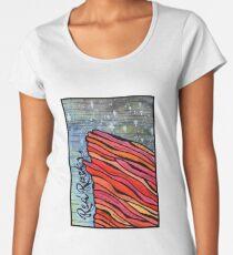 Rote Felsen Frauen Premium T-Shirts