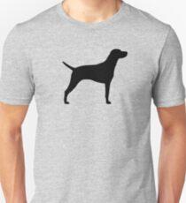 Hungarian Vizsla Silhouette(s) Unisex T-Shirt