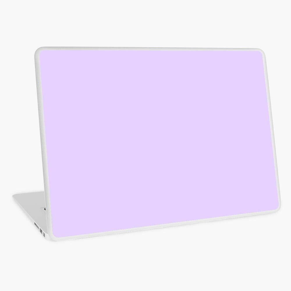 Pale Lilac Solid Color Laptop Skin