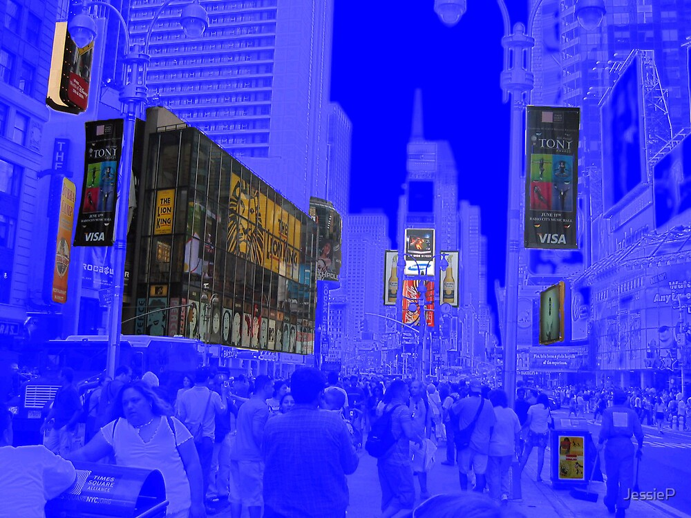 Times Square by JessieP
