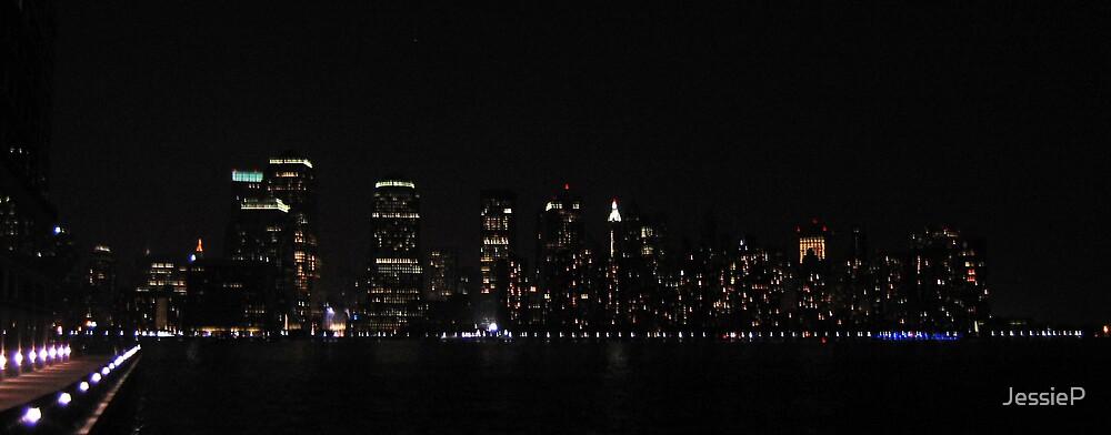 NYC @ Night by JessieP