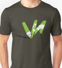 Painted green T-Shirt