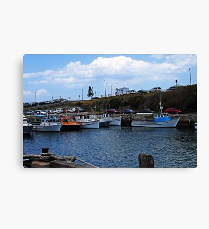 The Harbour - Wollongong  Canvas Print