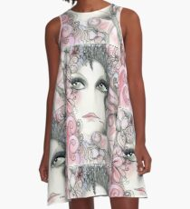 pink woodland fairy Jacqueline Mcculloch House of Harlequin A-Line Dress