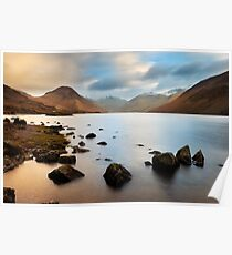 Early morning at Wastwater Poster
