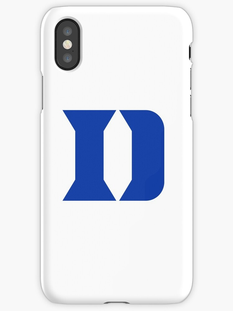 Watch Duke Logo Iphone Cases Skins By Pedrozon Redbubble