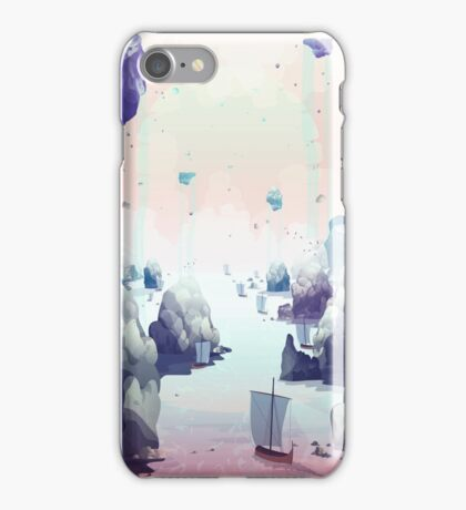 Edge of the Earth iPhone Case/Skin
