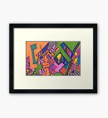 """Geometric"" Framed Print"