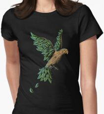 Wood Bird Womens Fitted T-Shirt