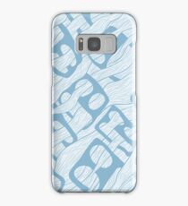 Flowing Faces Samsung Galaxy Case/Skin