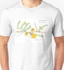 Acacia karroo thorns - botanical illustration Unisex T-Shirt