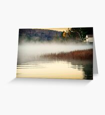 The end of summer camp. Greeting Card