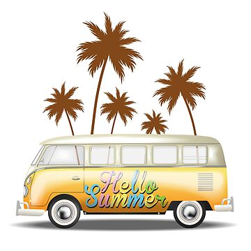 Summer Bus by Fmgt