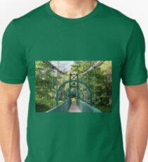 Pitlochry suspension bridge, Scotland T-Shirt