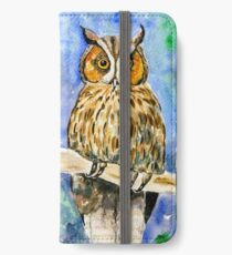 Wise Owl iPhone Wallet/Case/Skin