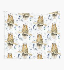 Wise Owl Wall Tapestry