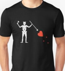 Blackbeard Flag Tshirt Blackbeard Pirate Shirt Unisex T-Shirt