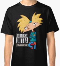 Hey Arnold! Straight Outta Hillwood - Arnold Classic T-Shirt