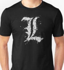Death Note L Splatter Unisex T-Shirt