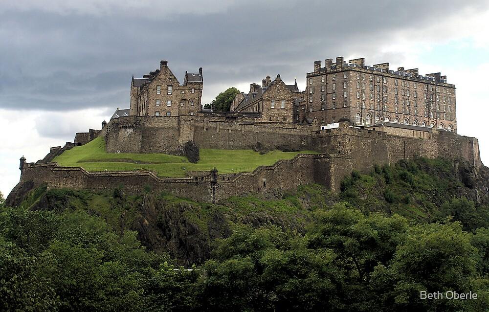 Edinburgh Castle by Beth Oberle