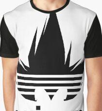 Dragon Ball Z DBZ Hair Graphic T-Shirt
