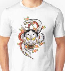 mad dog's hannya Unisex T-Shirt