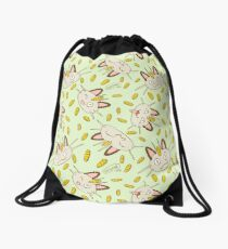 Lucky Meowth by VIXTOPHER Drawstring Bag