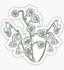Lily of the Valley - May Birth Month Sticker