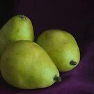 Three Pears by Stephen Thomas