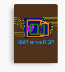 The Heart of the Robot Canvas Print