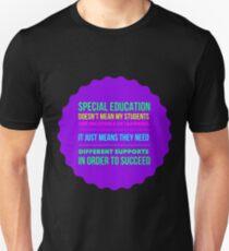 Special Education Teachers Unisex T-Shirt
