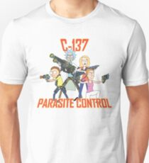 Rick and Morty – C-137 Parasite Control Unisex T-Shirt
