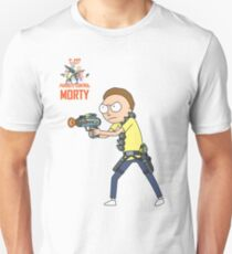 Rick and Morty – Morty, Parasite Control Unisex T-Shirt