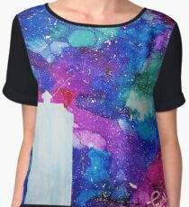 Tardis Women's Chiffon Top