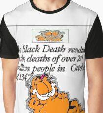 garfield black death comic Graphic T-Shirt