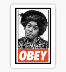 Obey Aunt Esther  Sticker
