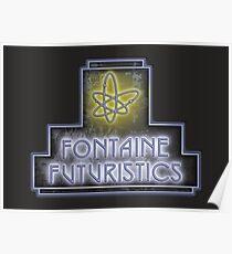 Fontaine Futuristics Poster