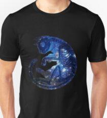 Stern Katze Slim Fit T-Shirt