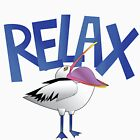 Relax: Pelican Style by jamdraws