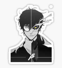 Joker Double side Sticker