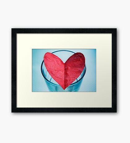 I Give You My Heart Framed Print