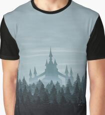 Misty Castle Graphic T-Shirt