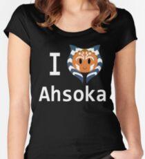 I Love Ahsoka Women's Fitted Scoop T-Shirt