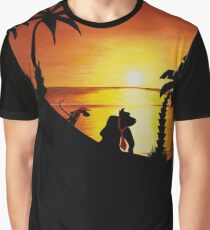 Sunset Shore Graphic T-Shirt
