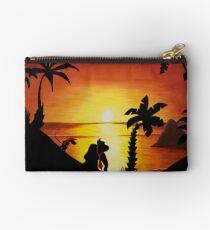 Sunset Shore Studio Pouch