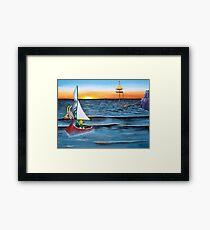 Outset Island Framed Print