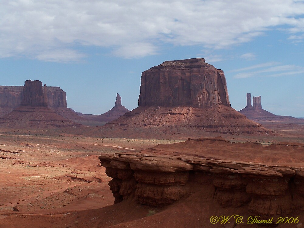 Monument Valley by PhilNDeBlanc
